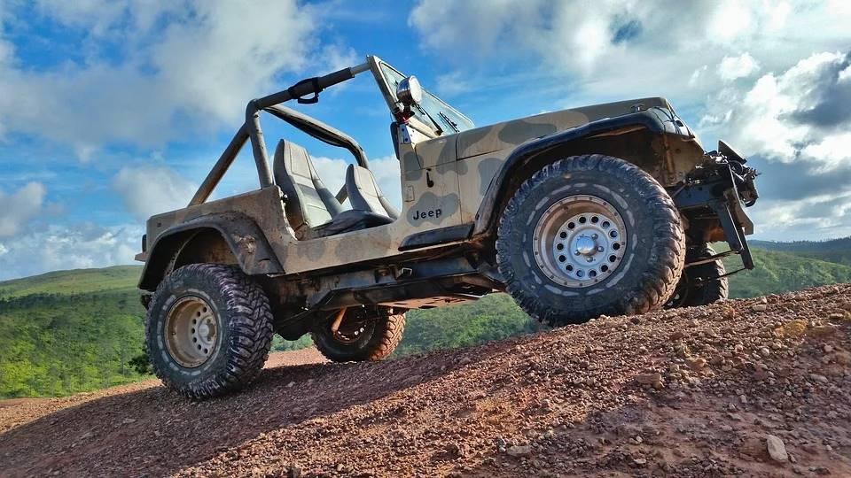 Camo Jeep Wrangler