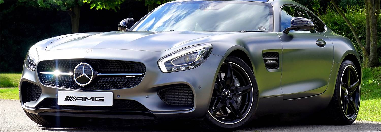 Gray Mercedes-Benz
