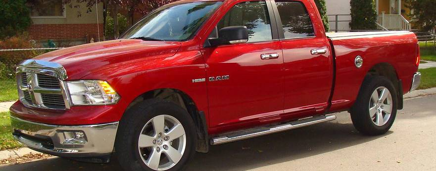 Red Dodge Ram