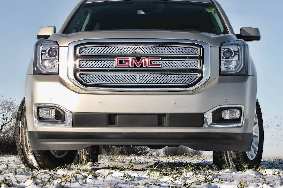 Gray GMC SUV